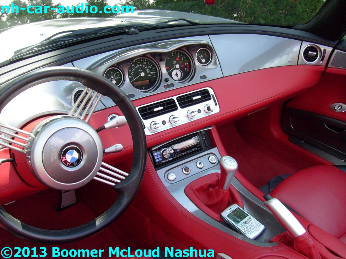 BMW-Z8-custom-stereo-installation