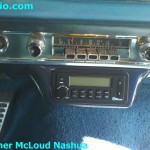 Classic-car-secret-audio-ash-tray-installation
