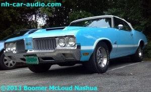 Classic Car, Modern Audio Oldsmobile-442-audio-upgrade