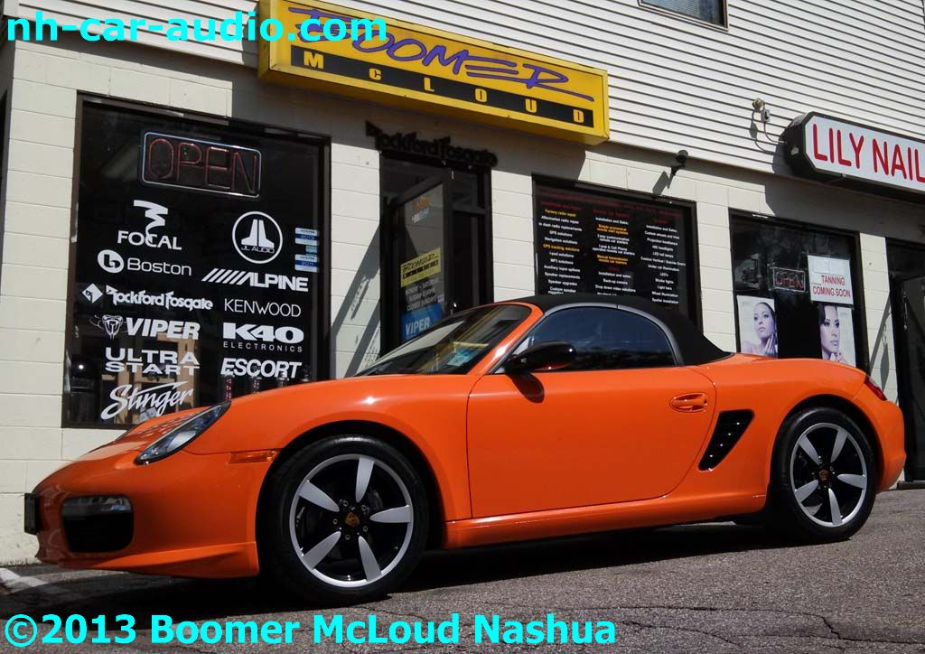 Porsche-Boxster-convertible-navigation-radio-upgrade-multimedia-stereo-upgrade