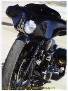 American Bagger Cover Boomer Nashua Custom Harley