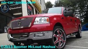 Ford F150 Custom Boomer Nashua Mobile Electronics
