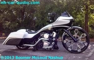 Harley Roadglide Custom - Boomer Nashua Mobile Electronics