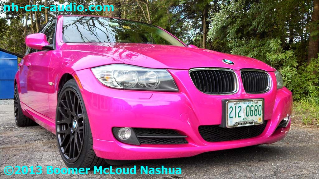 Pink Bmw Convertible