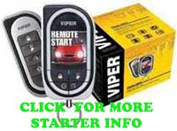 Click for remote car starter information