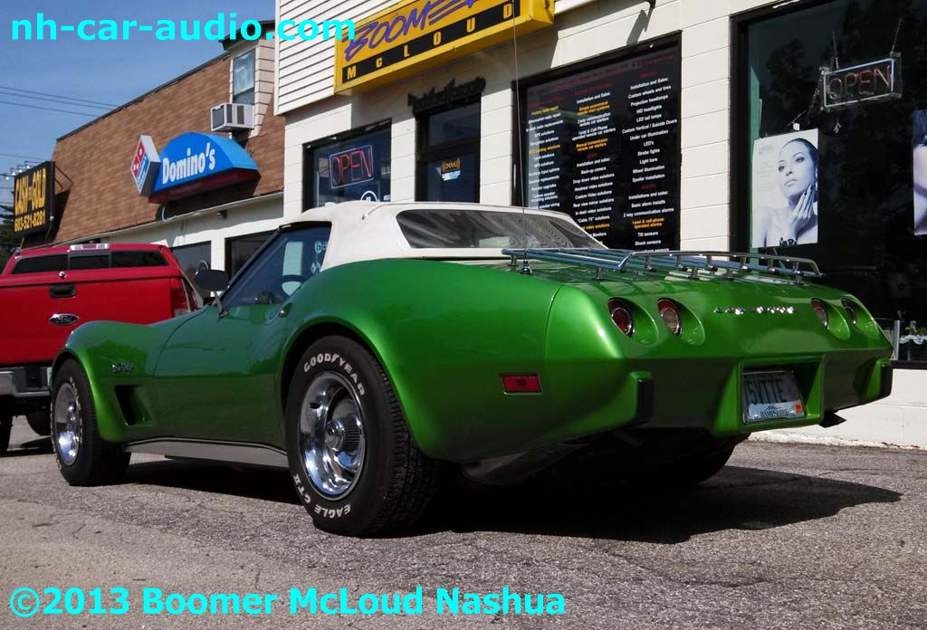 Corvette 1975 Custom Installation Boomer Nashua Mobile
