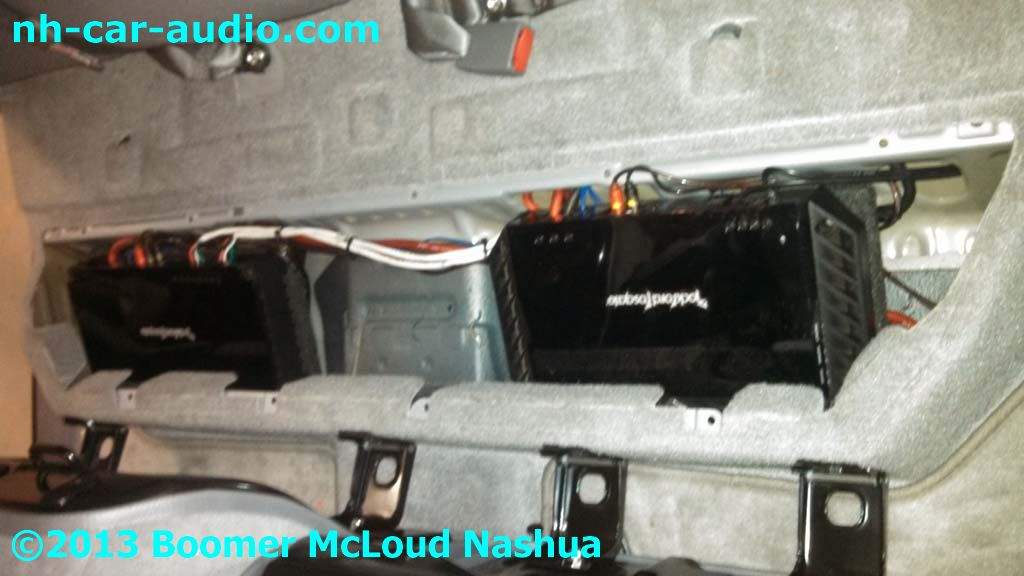 Toyota Tacoma Dual Amplifier Location on Nissan 350z Battery