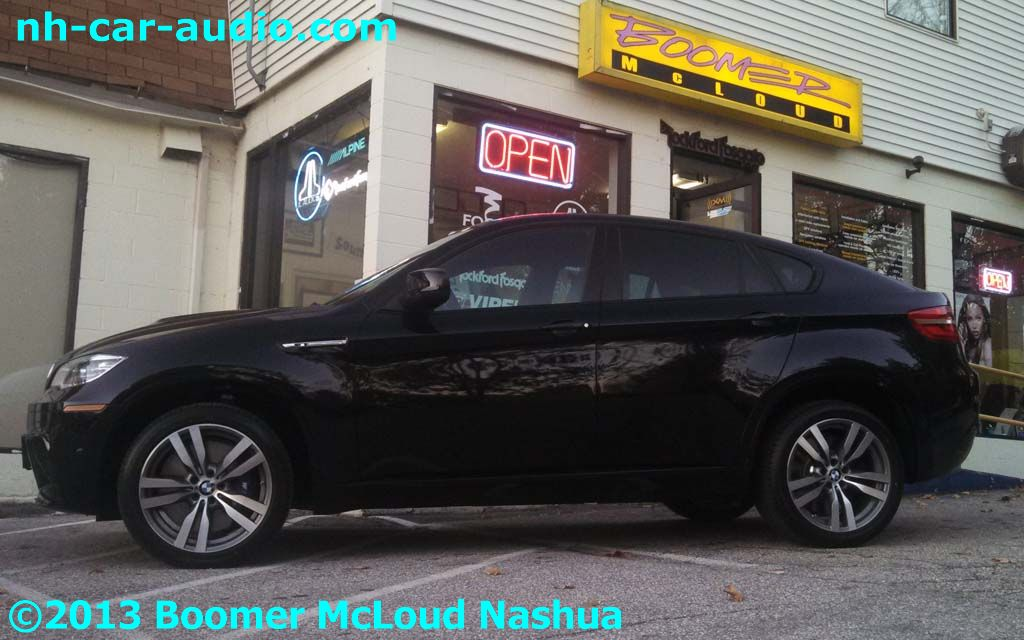 BMW X6 Custom Boomer Nashua Mobile Electronics