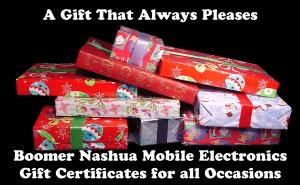 Boomer Nashua Gift Certificates