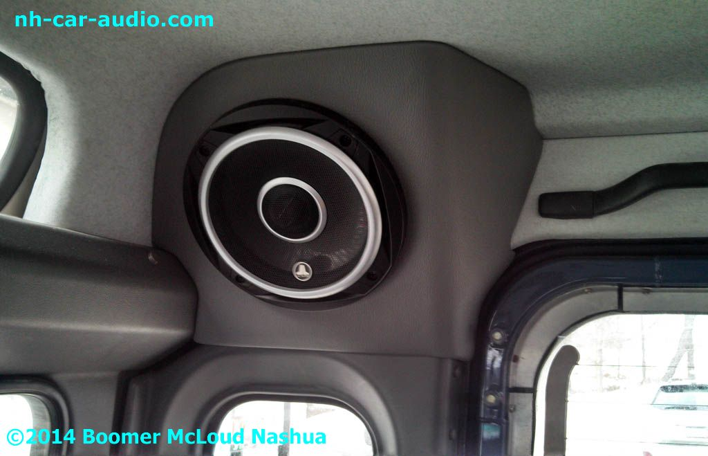 Defender Custom Fitted Vinyl Wrapped Speaker Pod