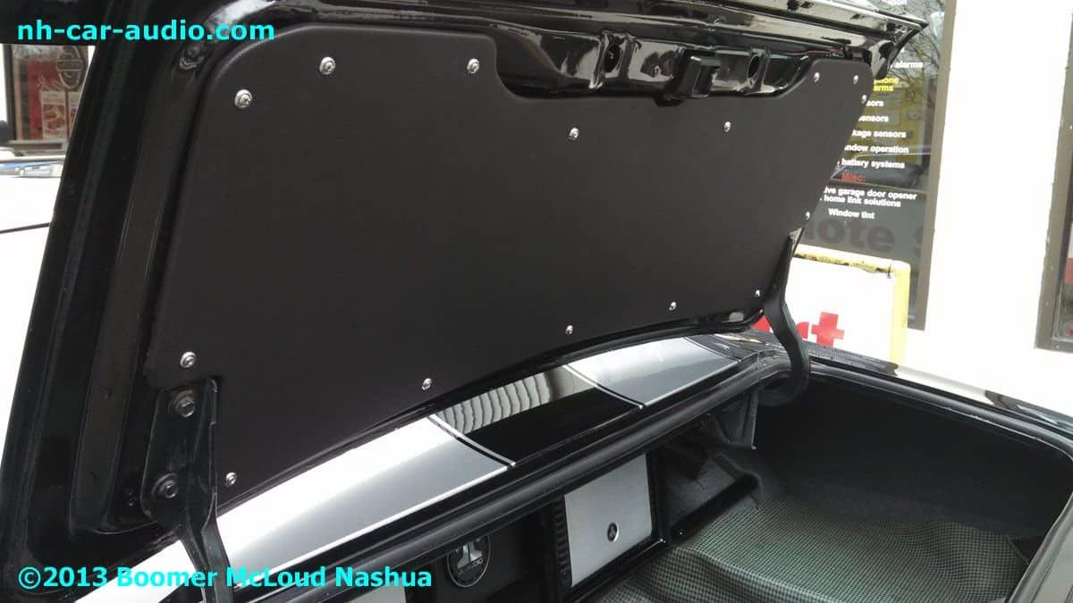 67 Camaro Custom Trunk Lid Interior Trim Panel Boomer