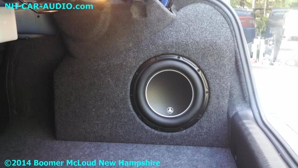 Subaru Wrx Sti Fiberglass Molded 10 Inch Subwoofer Enclosure