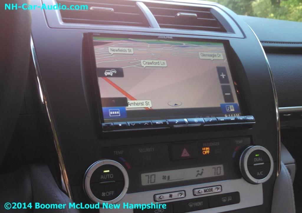 2014 Camry Alpine 8 Inch Navigation Multimedia Boomer