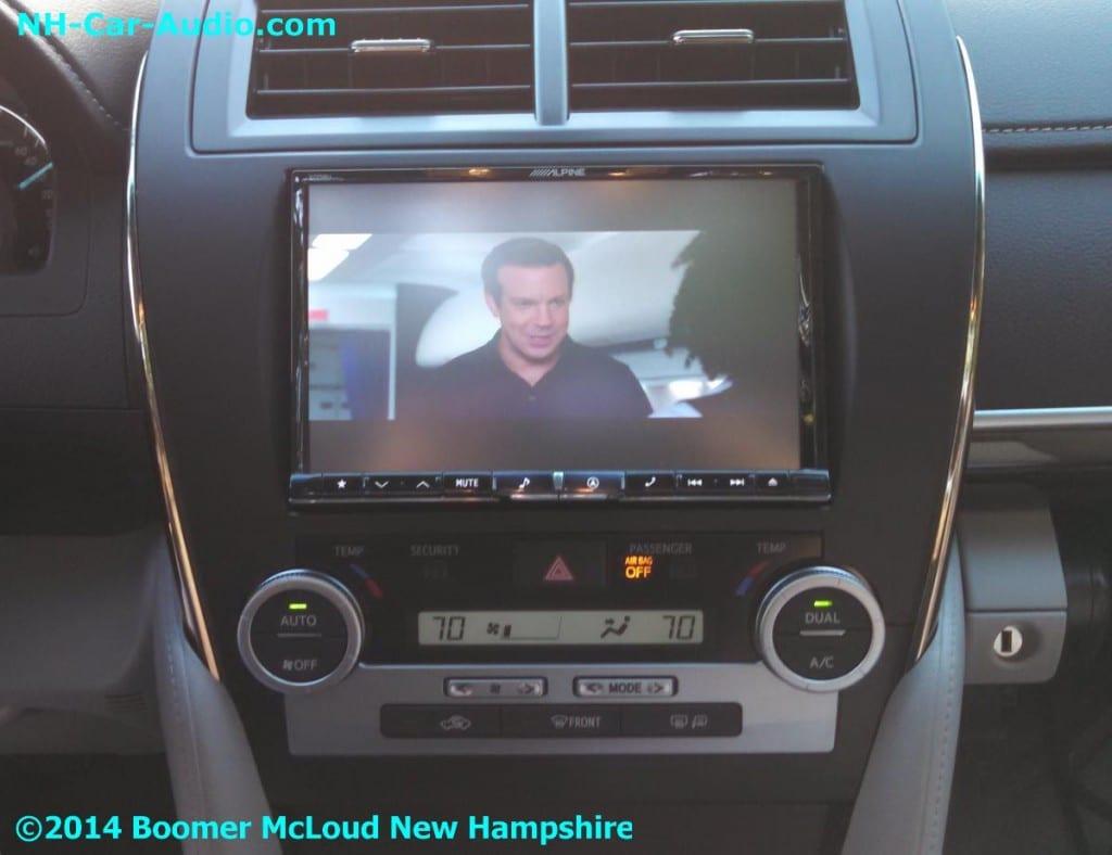 Iphone Remote Car Starter >> 2014-Camry-Alpine-iPad-iPhone-video-playback-in-car - Boomer McLoud NH