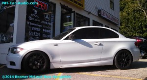BMW 1 Series Custom Installation Boomer Nashua Mobile Electronics