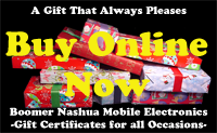 We now have Instant Online Gift Certificates