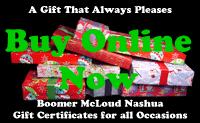 Instant Online Gift Certificates