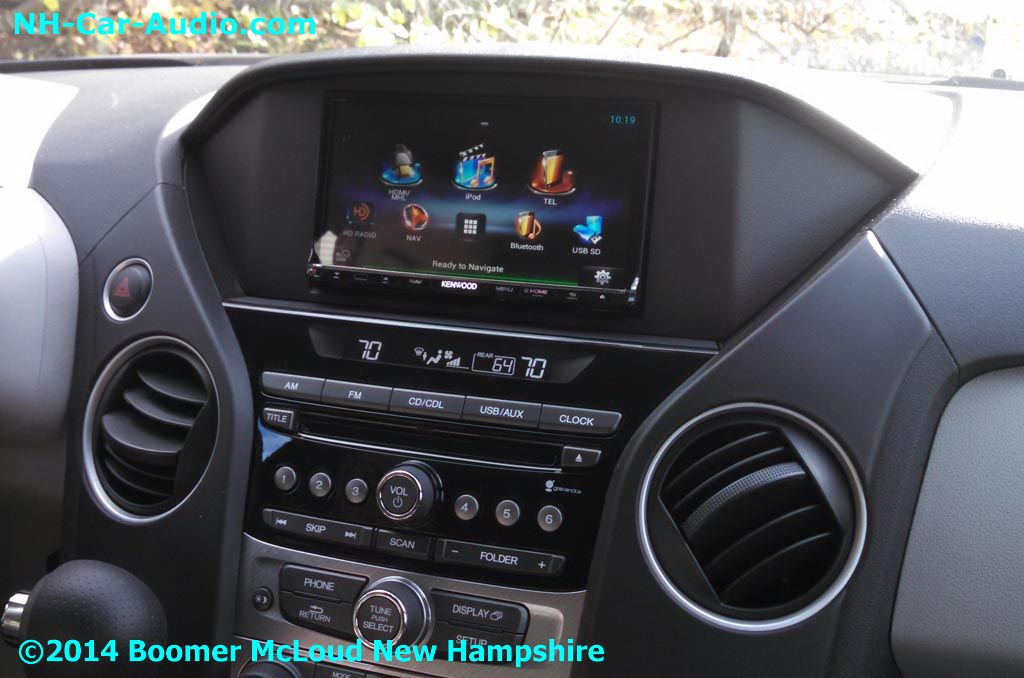 2012 Honda pilot stereo upgrade