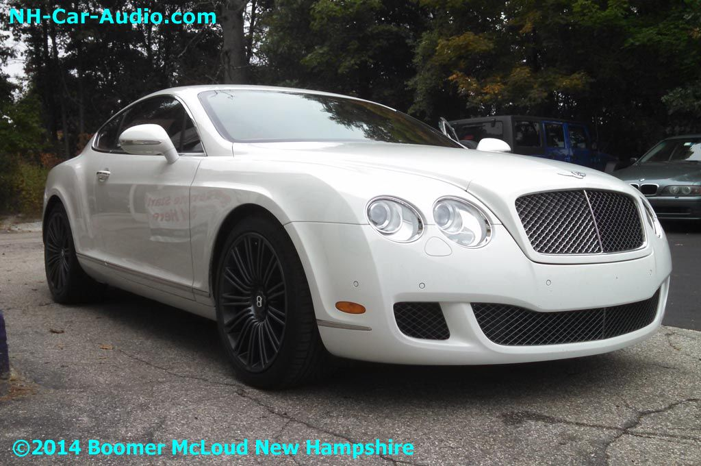 Bentley-Continental-GT-grille - Boomer McLoud NH