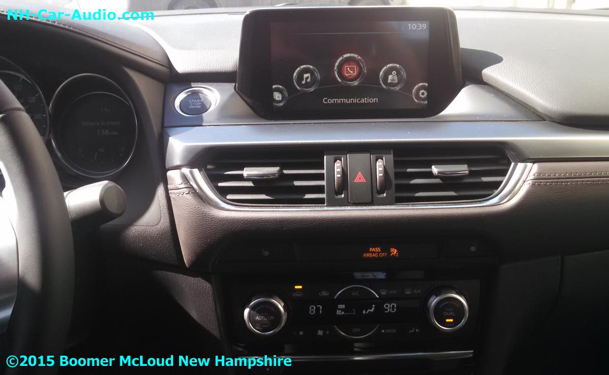 2015 Mazda M6 Factory Radio Premium Stereo Interfaced With