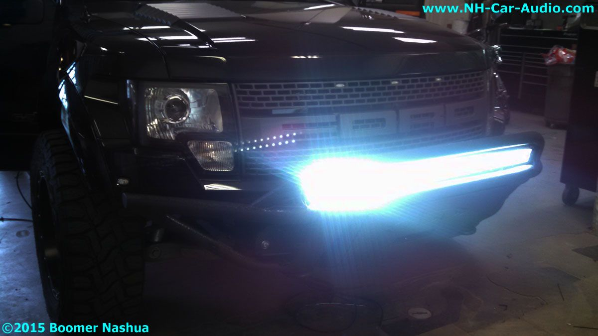 Ford-Roush-Raptor-ridiculous-lights - Boomer Nashua Mobile Electronics
